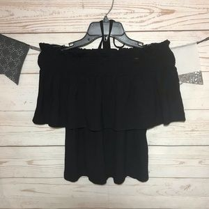 Rebecca Minkoff Off The Shoulder Top Size S